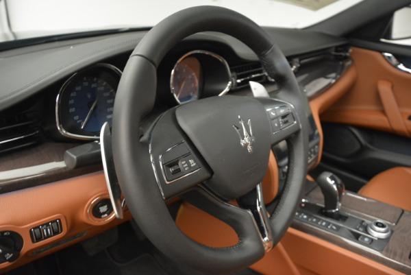 New 2018 Maserati Quattroporte S Q4 for sale Sold at Bentley Greenwich in Greenwich CT 06830 16