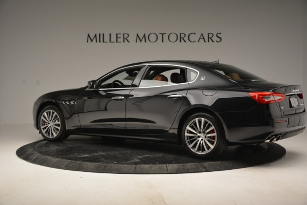 New 2018 Maserati Quattroporte S Q4 for sale Sold at Bentley Greenwich in Greenwich CT 06830 4