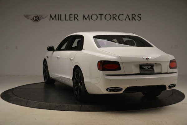 New 2018 Bentley Flying Spur V8 S Black Edition for sale Sold at Bentley Greenwich in Greenwich CT 06830 5