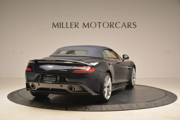 Used 2014 Aston Martin Vanquish Volante for sale Sold at Bentley Greenwich in Greenwich CT 06830 18