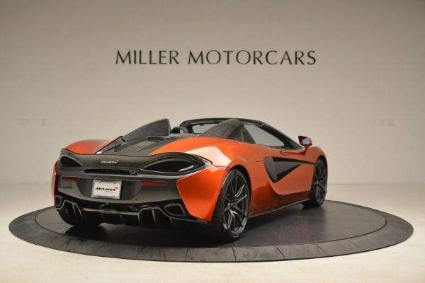 New 2018 McLaren 570S Spider for sale Sold at Bentley Greenwich in Greenwich CT 06830 7