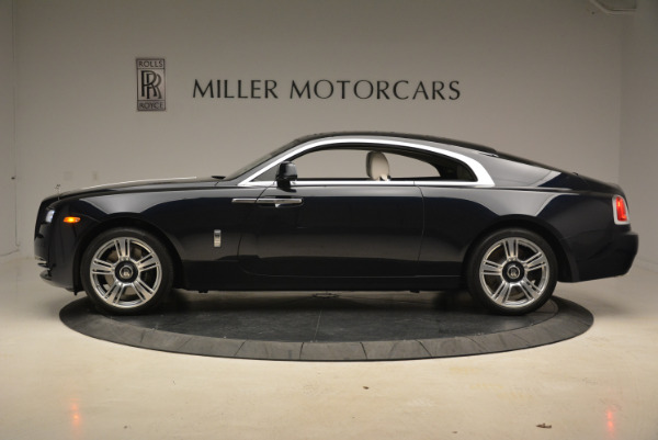 Used 2015 Rolls-Royce Wraith for sale Sold at Bentley Greenwich in Greenwich CT 06830 3
