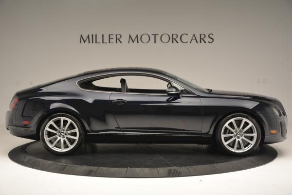 Used 2010 Bentley Continental Supersports for sale Sold at Bentley Greenwich in Greenwich CT 06830 9