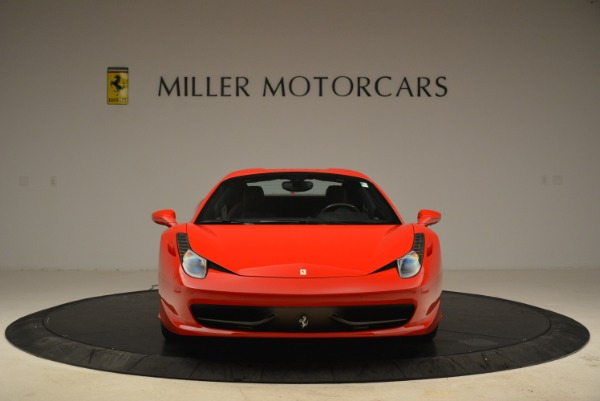 Used 2014 Ferrari 458 Spider for sale Sold at Bentley Greenwich in Greenwich CT 06830 24