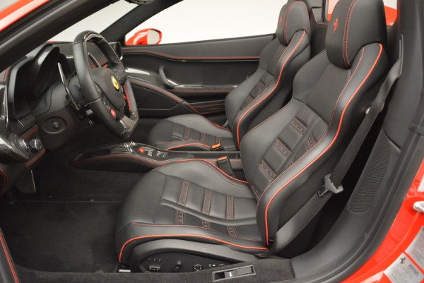 Used 2014 Ferrari 458 Spider for sale Sold at Bentley Greenwich in Greenwich CT 06830 26