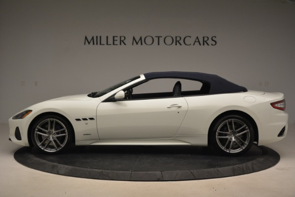 New 2018 Maserati GranTurismo Sport Convertible for sale Sold at Bentley Greenwich in Greenwich CT 06830 16