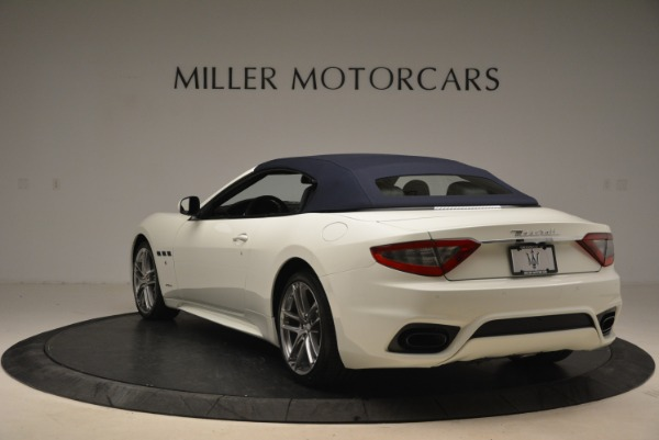 New 2018 Maserati GranTurismo Sport Convertible for sale Sold at Bentley Greenwich in Greenwich CT 06830 18