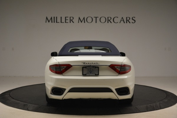 New 2018 Maserati GranTurismo Sport Convertible for sale Sold at Bentley Greenwich in Greenwich CT 06830 19