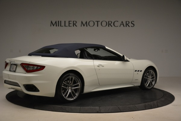 New 2018 Maserati GranTurismo Sport Convertible for sale Sold at Bentley Greenwich in Greenwich CT 06830 21