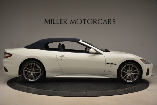 New 2018 Maserati GranTurismo Sport Convertible for sale Sold at Bentley Greenwich in Greenwich CT 06830 22