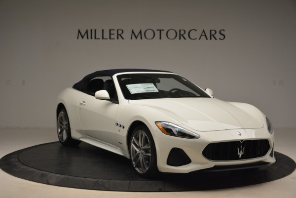 New 2018 Maserati GranTurismo Sport Convertible for sale Sold at Bentley Greenwich in Greenwich CT 06830 24