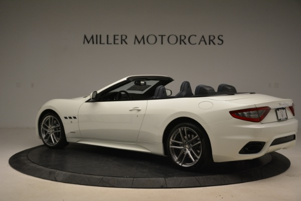 New 2018 Maserati GranTurismo Sport Convertible for sale Sold at Bentley Greenwich in Greenwich CT 06830 5