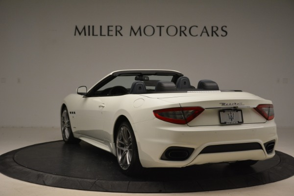 New 2018 Maserati GranTurismo Sport Convertible for sale Sold at Bentley Greenwich in Greenwich CT 06830 6