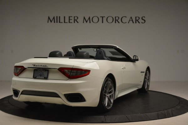 New 2018 Maserati GranTurismo Sport Convertible for sale Sold at Bentley Greenwich in Greenwich CT 06830 8