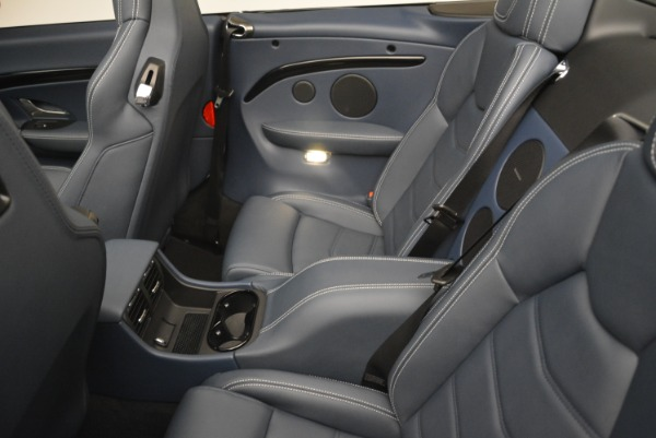 New 2018 Maserati GranTurismo Sport Convertible for sale Sold at Bentley Greenwich in Greenwich CT 06830 20