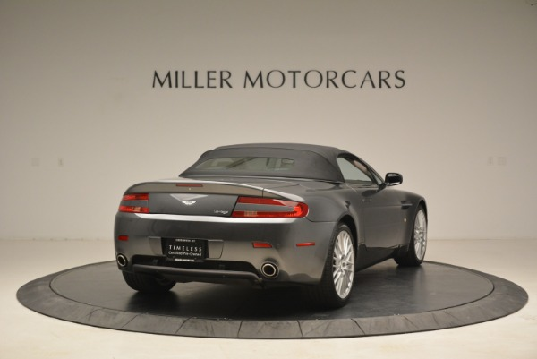 Used 2009 Aston Martin V8 Vantage Roadster for sale Sold at Bentley Greenwich in Greenwich CT 06830 19