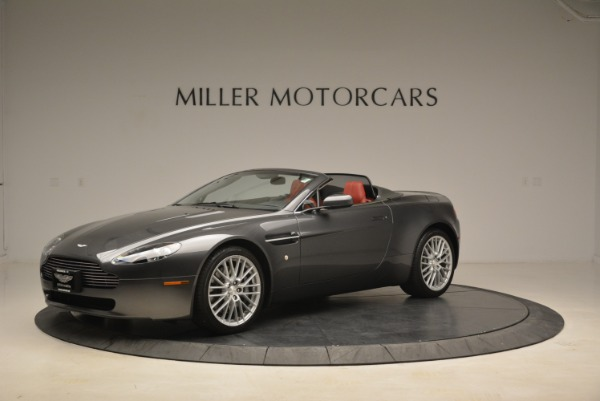 Used 2009 Aston Martin V8 Vantage Roadster for sale Sold at Bentley Greenwich in Greenwich CT 06830 2