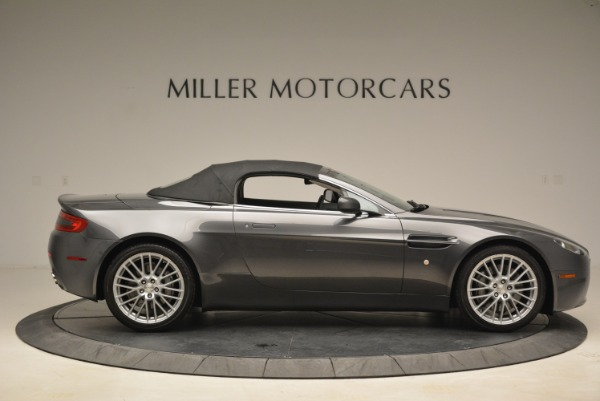 Used 2009 Aston Martin V8 Vantage Roadster for sale Sold at Bentley Greenwich in Greenwich CT 06830 21