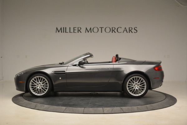 Used 2009 Aston Martin V8 Vantage Roadster for sale Sold at Bentley Greenwich in Greenwich CT 06830 3