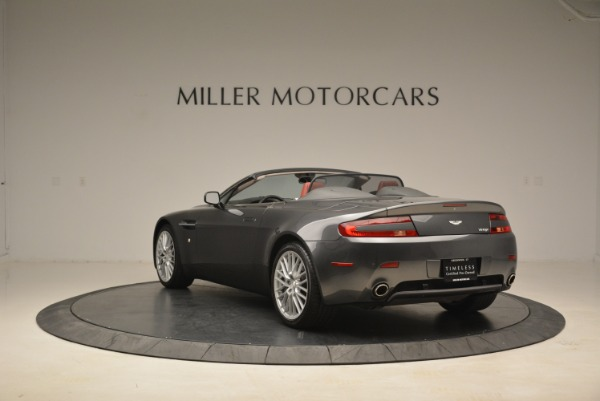 Used 2009 Aston Martin V8 Vantage Roadster for sale Sold at Bentley Greenwich in Greenwich CT 06830 5