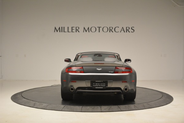 Used 2009 Aston Martin V8 Vantage Roadster for sale Sold at Bentley Greenwich in Greenwich CT 06830 6