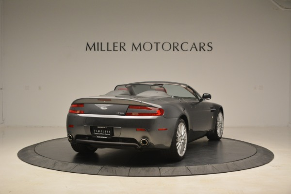 Used 2009 Aston Martin V8 Vantage Roadster for sale Sold at Bentley Greenwich in Greenwich CT 06830 7