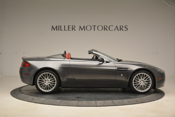 Used 2009 Aston Martin V8 Vantage Roadster for sale Sold at Bentley Greenwich in Greenwich CT 06830 9