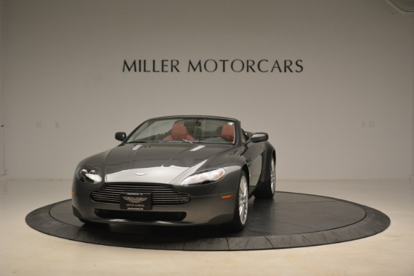 Used 2009 Aston Martin V8 Vantage Roadster for sale Sold at Bentley Greenwich in Greenwich CT 06830 1
