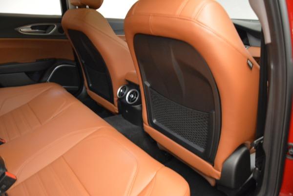 New 2018 Alfa Romeo Giulia Ti Sport Q4 for sale Sold at Bentley Greenwich in Greenwich CT 06830 22