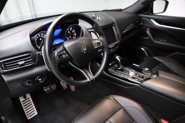 Used 2018 Maserati Levante Q4 GranSport for sale $53,900 at Bentley Greenwich in Greenwich CT 06830 18