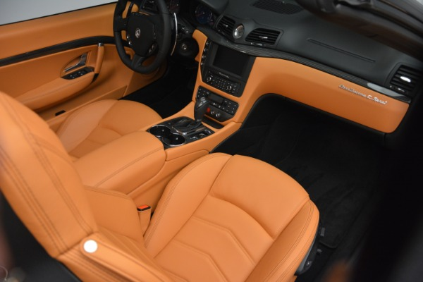 Used 2015 Maserati GranTurismo Sport Convertible for sale Sold at Bentley Greenwich in Greenwich CT 06830 23