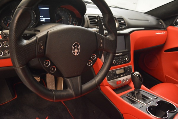 Used 2014 Maserati GranTurismo Sport for sale Sold at Bentley Greenwich in Greenwich CT 06830 15