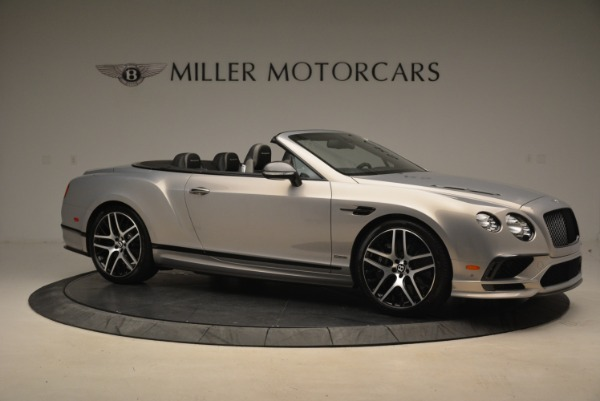Used 2018 Bentley Continental GT Supersports Convertible for sale Sold at Bentley Greenwich in Greenwich CT 06830 10