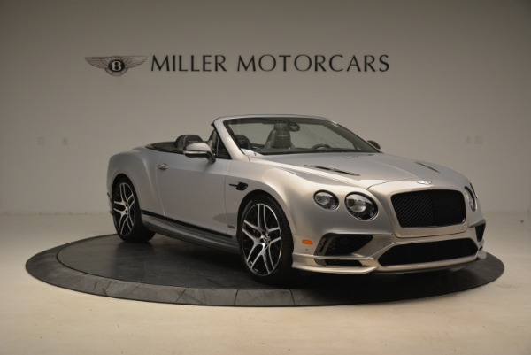 Used 2018 Bentley Continental GT Supersports Convertible for sale Sold at Bentley Greenwich in Greenwich CT 06830 11