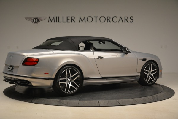 Used 2018 Bentley Continental GT Supersports Convertible for sale Sold at Bentley Greenwich in Greenwich CT 06830 17