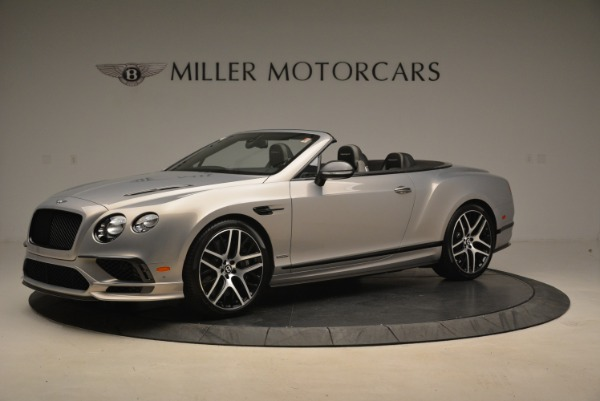 Used 2018 Bentley Continental GT Supersports Convertible for sale Sold at Bentley Greenwich in Greenwich CT 06830 2