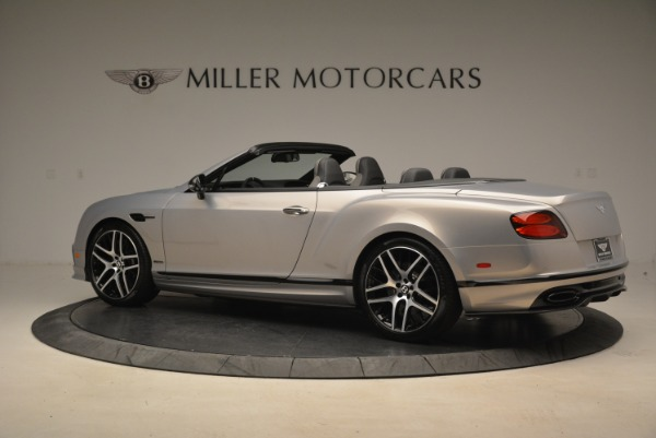 Used 2018 Bentley Continental GT Supersports Convertible for sale Sold at Bentley Greenwich in Greenwich CT 06830 4
