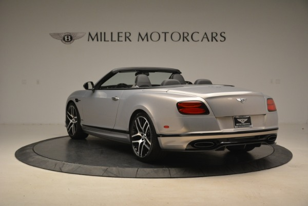 Used 2018 Bentley Continental GT Supersports Convertible for sale Sold at Bentley Greenwich in Greenwich CT 06830 5