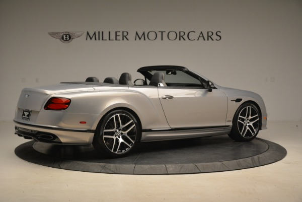 Used 2018 Bentley Continental GT Supersports Convertible for sale Sold at Bentley Greenwich in Greenwich CT 06830 8