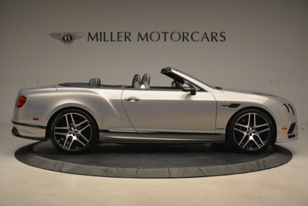 Used 2018 Bentley Continental GT Supersports Convertible for sale Sold at Bentley Greenwich in Greenwich CT 06830 9