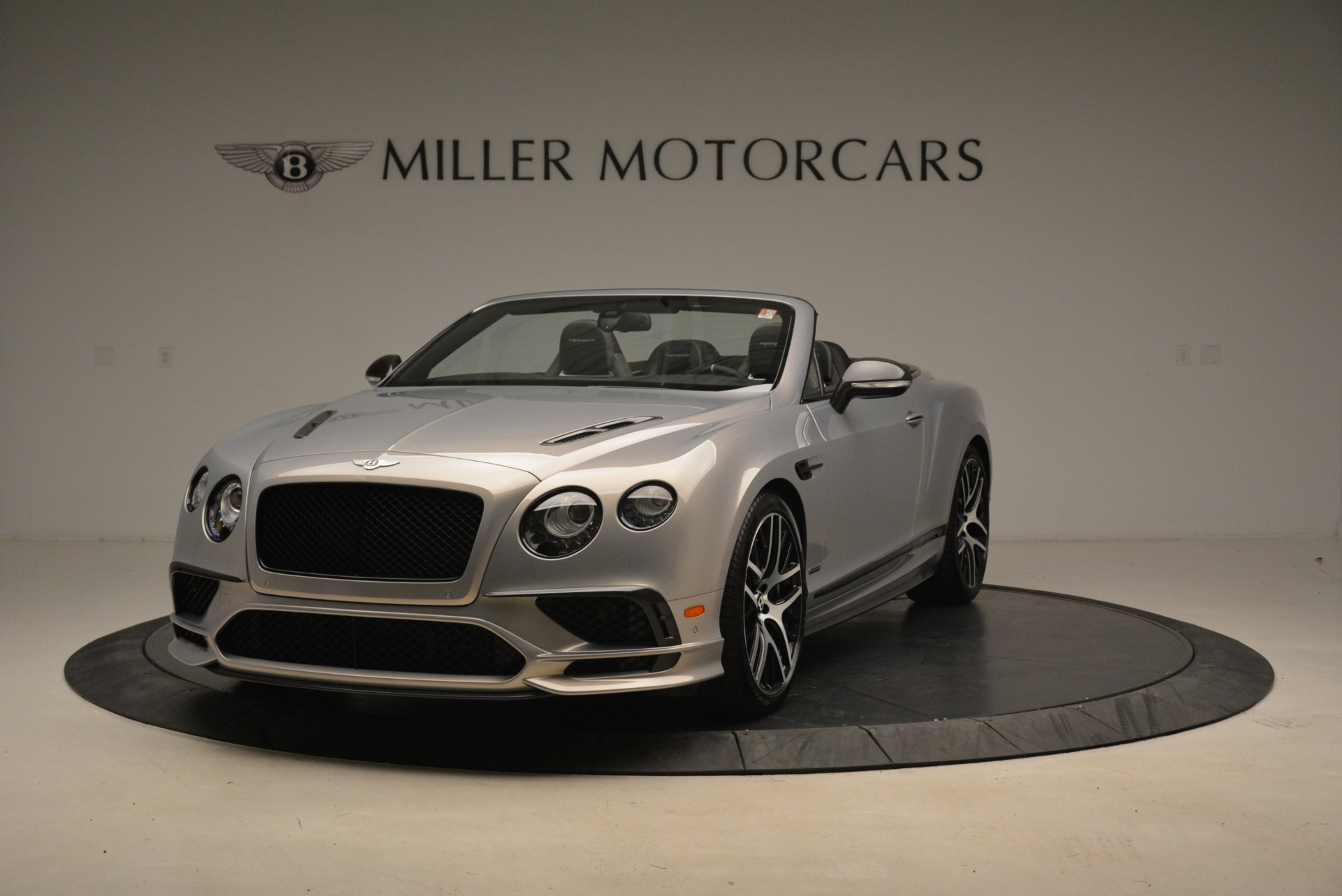 Used 2018 Bentley Continental GT Supersports Convertible for sale Sold at Bentley Greenwich in Greenwich CT 06830 1