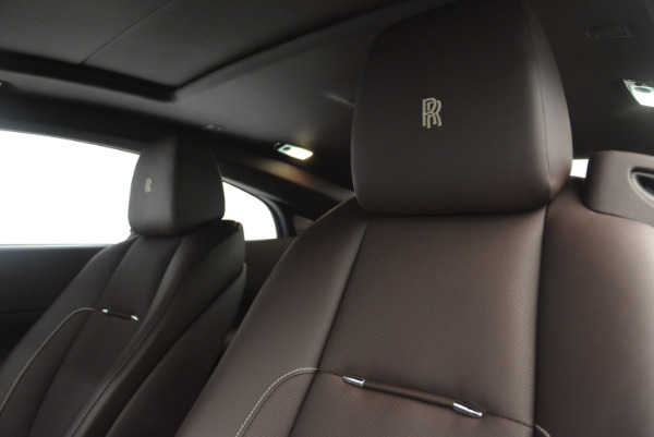 Used 2016 Rolls-Royce Wraith for sale Sold at Bentley Greenwich in Greenwich CT 06830 17