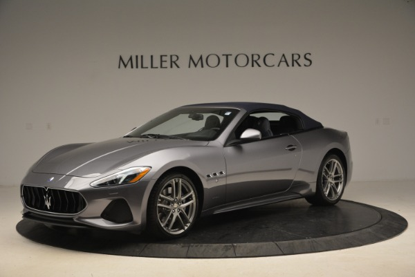 New 2018 Maserati GranTurismo Sport Convertible for sale Sold at Bentley Greenwich in Greenwich CT 06830 2