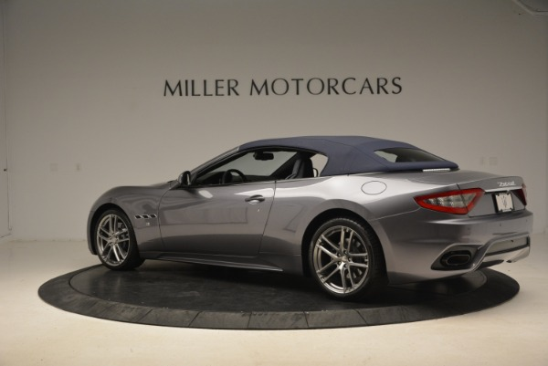 New 2018 Maserati GranTurismo Sport Convertible for sale Sold at Bentley Greenwich in Greenwich CT 06830 4