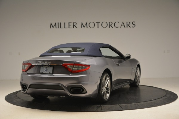 New 2018 Maserati GranTurismo Sport Convertible for sale Sold at Bentley Greenwich in Greenwich CT 06830 7
