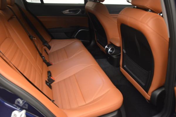 New 2018 Alfa Romeo Giulia Ti Sport Q4 for sale Sold at Bentley Greenwich in Greenwich CT 06830 23