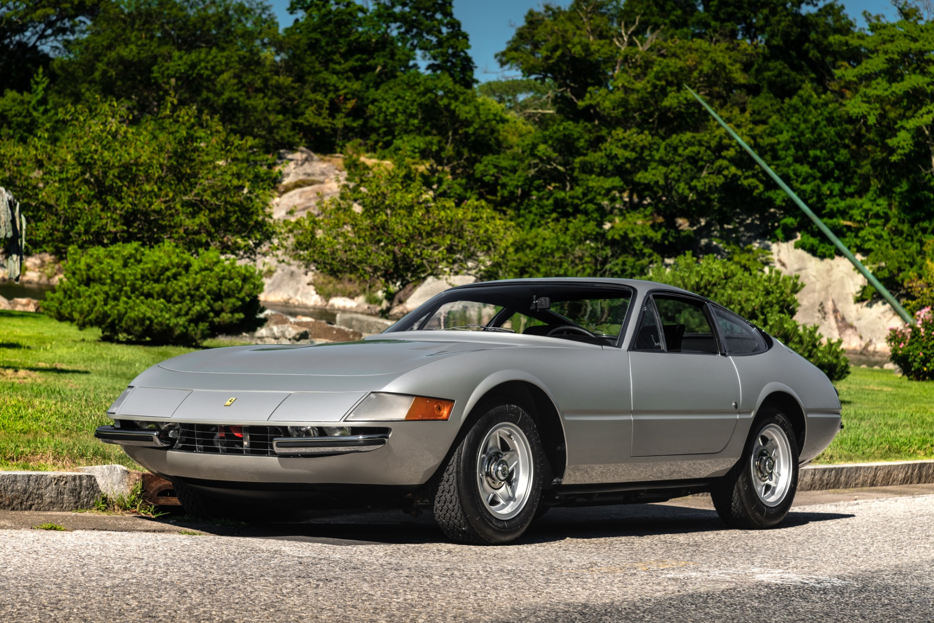Used 1971 Ferrari 365 GTB/4 Daytona for sale Sold at Bentley Greenwich in Greenwich CT 06830 1