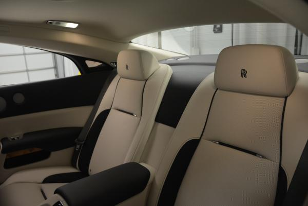 New 2016 Rolls-Royce Wraith for sale Sold at Bentley Greenwich in Greenwich CT 06830 26