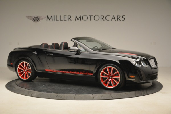 Used 2013 Bentley Continental GT Supersports Convertible ISR for sale Sold at Bentley Greenwich in Greenwich CT 06830 10