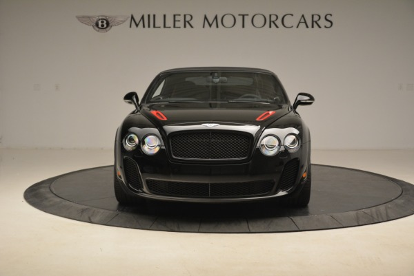 Used 2013 Bentley Continental GT Supersports Convertible ISR for sale Sold at Bentley Greenwich in Greenwich CT 06830 13
